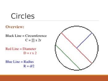 Basic Geometry - Circles and Triangles