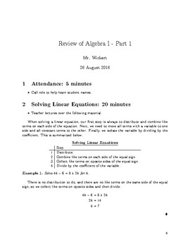 Basic Geometry Notes
