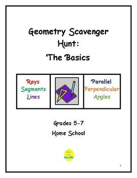 Basic Geometry Scavenger Hunt