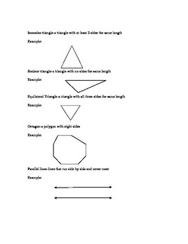 Basic Geometry Study Guide