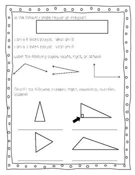 Basic Geometry Test