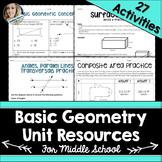 Geometry Unit Resources