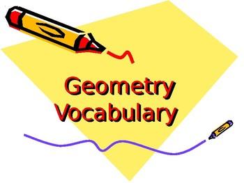 Basic Geometry Vocabulary