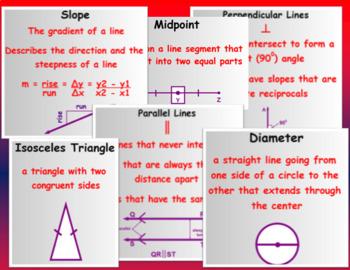 Basic Geometry Vocabulary (Math 1)