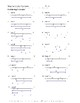 Basic Geometry Worksheet
