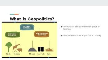Basic Geopolitics