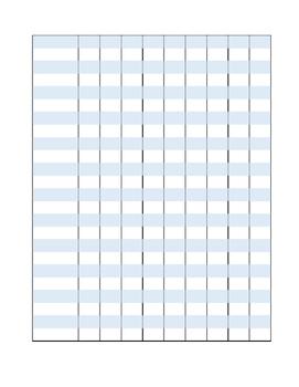 Basic Grading Sheet