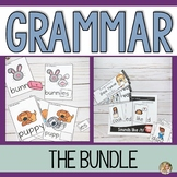 Basic Grammar Bundle | Regular Past Tense Verbs | Plurals