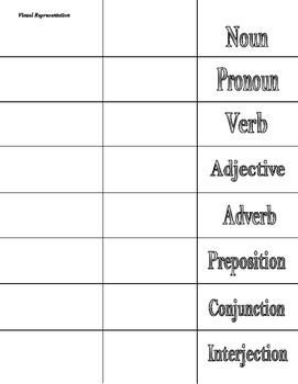 Basic Grammar Foldable