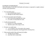 Basic Grammar and MLA Assessment