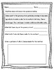 "Basic Nouns, Verbs, and Reading Comprehension Practice Worksheet ""Wh"" Questions"