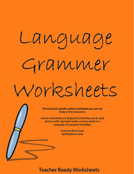 Basic Grammar in Simple Steps - Teacher Ready Worksheets