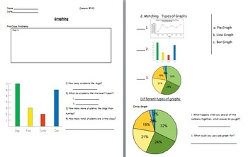 Basic Math Skills - Graphing (worksheet included) (SMART BOARD)