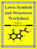 Lewis Symbols and Structures Worksheet