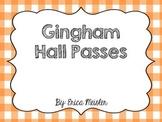 Basic Hall Pass Gingham Pattern