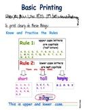Basic Hand Printing Skills