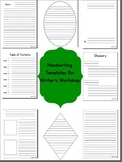 Basic Handwriting Templates for Primary Writing