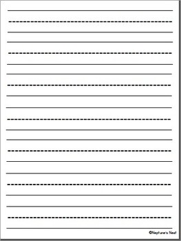 basic handwriting templates for primary writing by neptune s nest