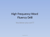 Basic High Frequency Word PowerPoint