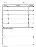 Basic Homework Log
