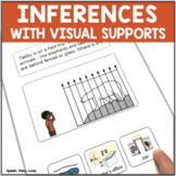 Speech Therapy Inferences with Visuals   Multiple Choice Q