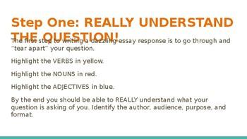 Basic Informative Writing PowerPoint
