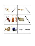 Basic Instrument Matching/Memory Game!