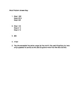 Basic Integer Word Problems