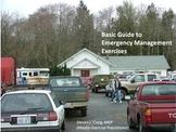 Basic Introduction to Emergency Management Exercises