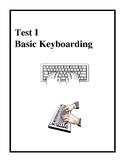Basic Keyboarding and Document Production Test
