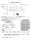 Basic Kindergarten Assessment