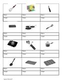 Basic Kitchen Equipment Vocabulary