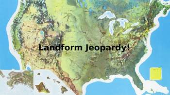 Basic Landforms Jeopardy