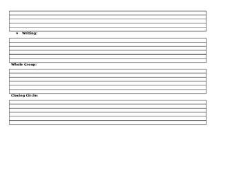 Basic Lesson Plan Format