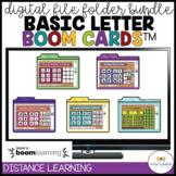 Basic Letter Skills Digital File Folders: BOOM Cards for D