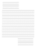 Basic Letter Writing Paper