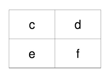 Basic Letters & Numbers Flashcards