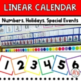 Basic Linear Calendar Set