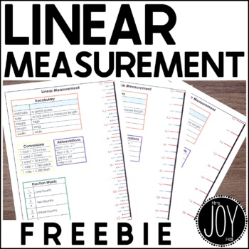Basic Linear Measurement Study Guide Cheat Sheet By Mrs