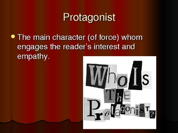Basic Literature Terms Powerpoint