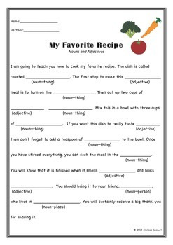 Basic Mad Lib Stories--Noun, Verb, Adjective (Set of Four)