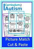 Basic Match Cut Paste Autism Fine Motor Scissor Skills