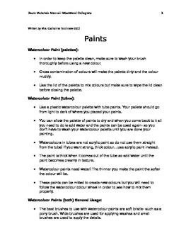 Basic Materials Manual