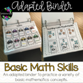 Basic Math Adapted Binder