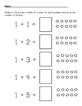 Basic Math Addition 1-10