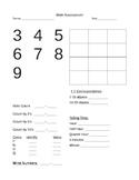Basic Math Assessment