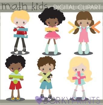 a7fb55456 Basic Math Clipart by Dorky Doodles