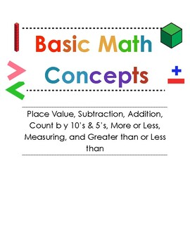 Basic Math Concepts: Special Education
