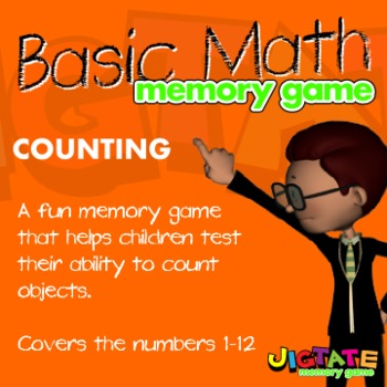 Basic Math - Counting Objects Memory Game