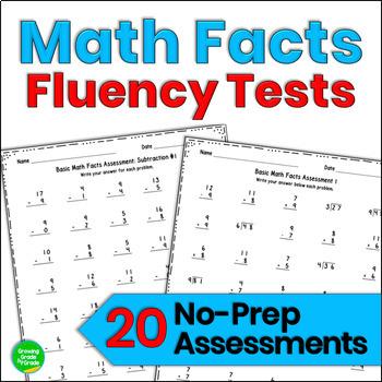 Math Fact Progress Monitoring Teaching Resources | Teachers Pay Teachers